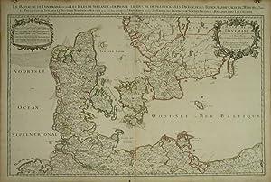 Le Royaume De Danemark Subdivisè en ses Principales Provinces, Tire de Plusieurs Memoires.: ...