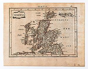 Schotia.: MERCATOR, Gerard & HONDIUS, Jodocus].