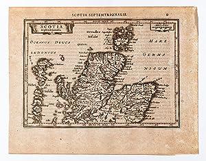 Scotia Septentrionalis.: MERCATOR, Gerard & HONDIUS, Jodocus].