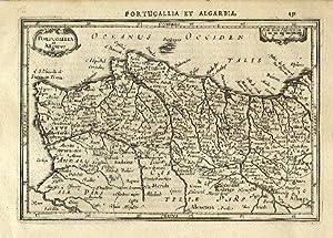 Portugallia et Algarve.: MERCATOR, Gerard & HONDIUS, Jodocus].