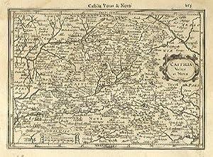Castilia Vetus et Nova.: MERCATOR, Gerard & HONDIUS, Jodocus].