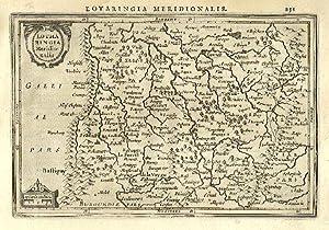 Lotharingia Meridionalis.: MERCATOR, Gerard & HONDIUS, Jodocus].
