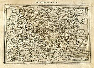 Palatinus Rheni.: MERCATOR, Gerard & HONDIUS, Jodocus].