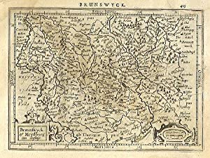 Braunswyck et Meydburg cum confinis.: MERCATOR, Gerard & HONDIUS, Jodocus].