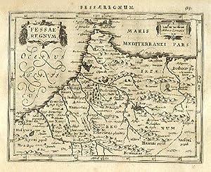 Fessae Regnum.: MERCATOR, Gerard & HONDIUS, Jodocus].