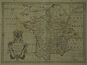 A New Map Of France Shewing its Principals Divisions Chief Cities, Townes, Ports, Rivers, Mountains...