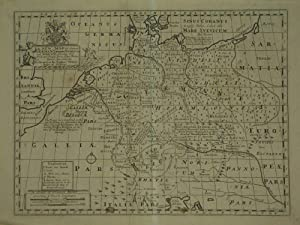 A New Map Of Antient Germany, Rhætia, Vindelicia, and Noricum. Shewing their Principal People, ...