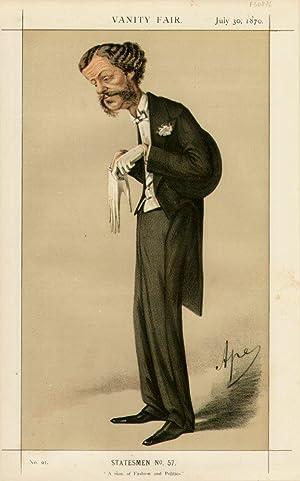 "A man of Fashion and Politics."" Statesmen. No. 57.: GORDON-LENNOX, Henry G.C., Lord."