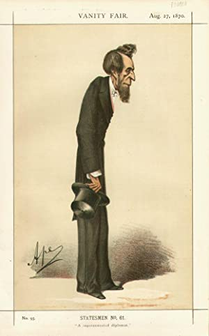 """A superannuated diplomat."""" Statesmen. No. 61.: BULWER, Henry L.E., Sir."""