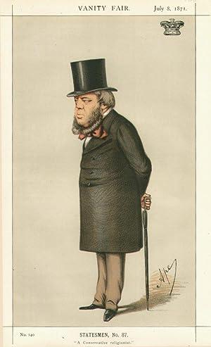 "A Conservative religionist"". No.140. Statesmen, No.87.: MARLBOROUGH, The Duke of"