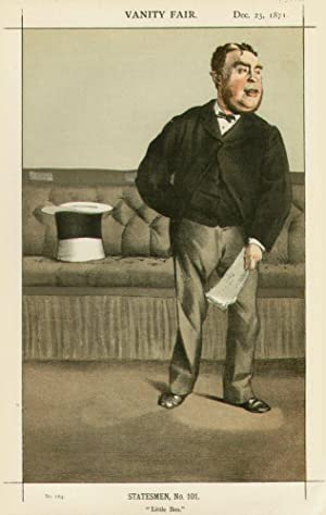 "Little Ben"". No.164. Statesmen, No. 101.: CAVENDISH-BENTINCK, Mr., M.P."