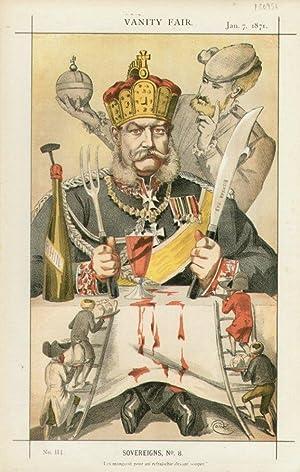 """Les mangeoit pour soi refraischir devant souper"""". No. 114. Sovereigns, No.8.: PRUSSIA, The ..."""
