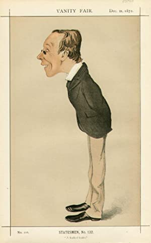 "A Radical leader."" Statesmen. No. 132.: FAWCETT, Henry, Mr."