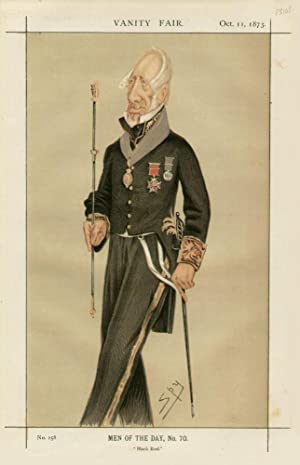"Black Rod."" Men of the Day. No. 70.: CLIFFORD, Augustus William James, Sir."
