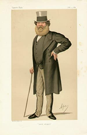 """lately whipped"""". Statesmen. No. 177.: TAYLOR, Thomas Edward, Colonel The Right Hon."""