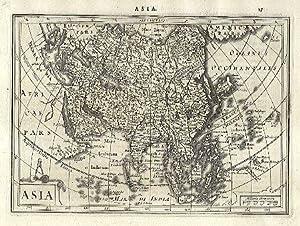 Asia.: MERCATOR, Gerard & HONDIUS, Jodocus].