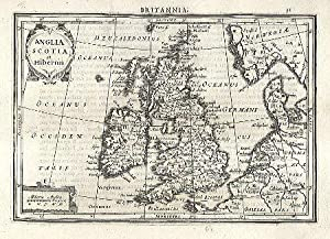 Anglia Scotia et Hibernia.: MERCATOR, Gerard & HONDIUS, Jodocus].