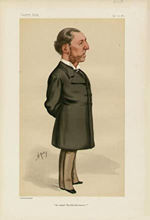 """He created 'The Pall Mall Gazette'"""". Men of the Day. No. 228.: GREENWOOD, Frederick,..."""