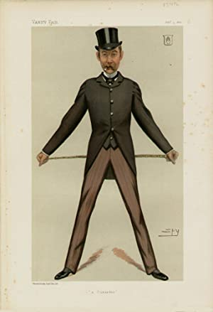 "a Cunarder"". Men of the Day. No. 239.: CUNARD, Bache Edward, Sir."