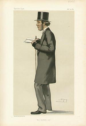 """His father's son"""". Statesmen. No. 389.: GLADSTONE, William Henry, Mr."""