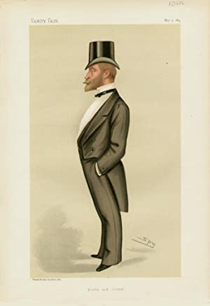 """gentle and liberal"""". Statesmen. No. 445.: HANBURY-TRACY, Frederick Stephen Archibald, The Hon."""