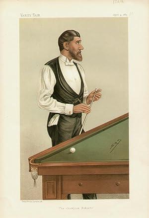"The champion of Roberts"". Men of the Day. No. 329. Billiards: ROBERTS, John, Mr. Junior."