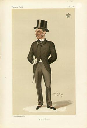 "a gentleman"". Statesmen. No. 495.: Zetland, The Earl of."