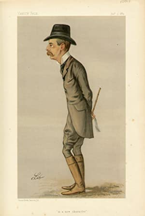 "in a new character"". Statesmen. No. 557.: CHURCHILL, Randolph Henry Spencer, The Right Hon. ..."