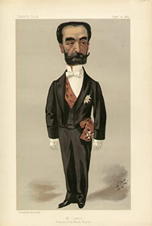 "M. Carnot. President of the French Republic"". Statesmen. No. 569.: CARNOT, Marie Francois Sadi..."