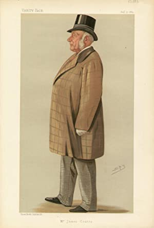 """Mr. James Coates"""". Men of the Day. No. 438.: COATES, James, Mr."""