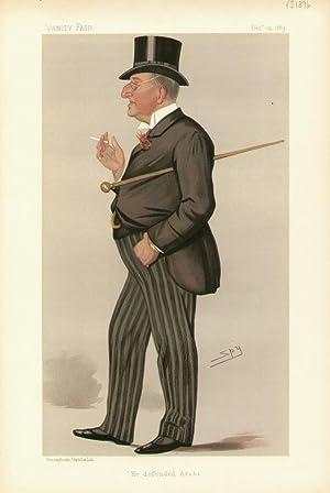 "He defended Arabi"". Men of the Day. No. 452. Journalist.: BROADLY, Alexander Meyrick, Mr."