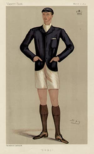 "O.U.B.C."". Men of the Day. No. 502. Rower.: AMPTHILL, Lord."
