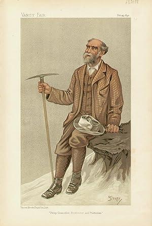 "Privy Councillor, Professor and Politician"". Statesmen. No. 609. Climber.: BRYCE, The Right ..."