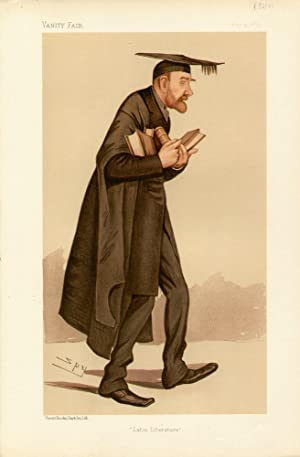 "Latin Literature"". Men of the Day. No. 588. Scholar.: ELLIS, Robinson, Mr."