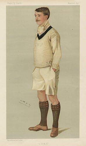 "O.U.B.C."". Men of the Day. No. 616. Rower.: PITMAN, Charles Murray, Mr."