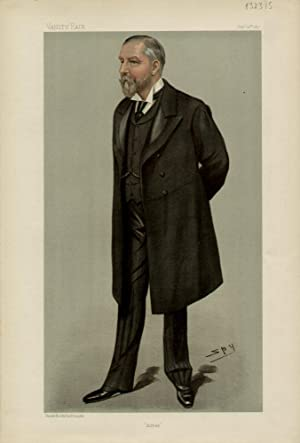 """Alfred"""". Men of the Day. No. 699.: COOPER, Alfred, Mr."""