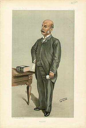 """Hospitals"""". Men of the Day. No. 718. Medicine.: BURDETT, Henry Charles, Sir."""
