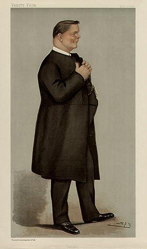"""Calcutta"""". Men of the Day. No. 730. Clergyman.: The Bishop Designate of Calcutta. WELLDON, ..."""