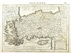 Natoliæ Sive Asia Minor.: MERCATOR, Gerard & HONDIUS, Jodocus]. KEERE, Pieter van den, (engr....