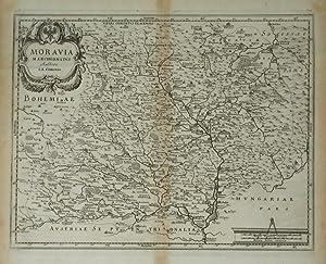 Moravia Marchionatus.: MERIAN, Matthaus after] COMENIO, I.A. [Aka COMENIUS]