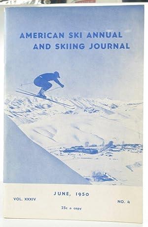 American Ski Annual.: Periodical). NATIONAL SKI ASSOCIATION OF AMERICA.