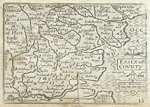 Essex County.: KEERE, Pieter van den].