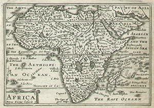 Africa.: SPEED, John]. KEERE, Pieter van den. (engr.).