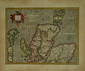 Scotiae Regnum.: MERCATOR, Gerard [and HONDIUS, Jodocus].