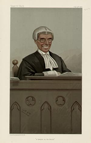 "a lawyer on the Bench"". Judges. No. 66.: WALTON, The Hon. Joseph, Sir"