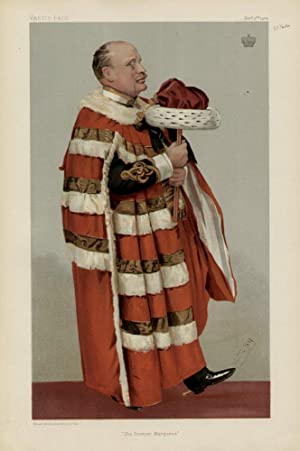 """The Premier Marquess"""". Men of the Day. No. 937.: PAULET, Henry William Montagu, The Marquess ..."""
