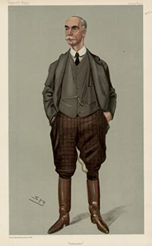 """Newmarket"""". Men of the Day. No. 922.: ROSE, Charles Day, Mr."""