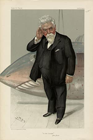 "In the Clouds"". Men of the Day. No. 943.: MAXIM, Hiram Stevens, Sir."