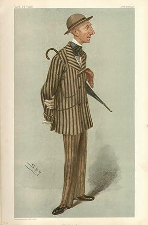 """the Hatter"""". Men of the Day. No. 921.: CRAWFURD-STIRLING-STUART, William, Mr."""