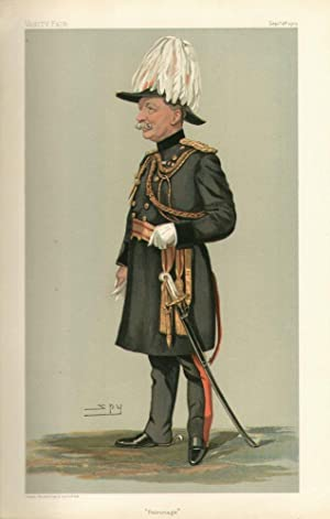 "Patronage"". Men of the Day. No. 929.: HUTCHINSON, H. D., Major-General."